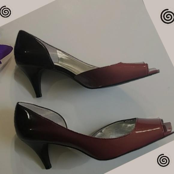ffe518b0d39 Gianni Bini Red Ombre' Heels 'Metro' Size 8 1/2